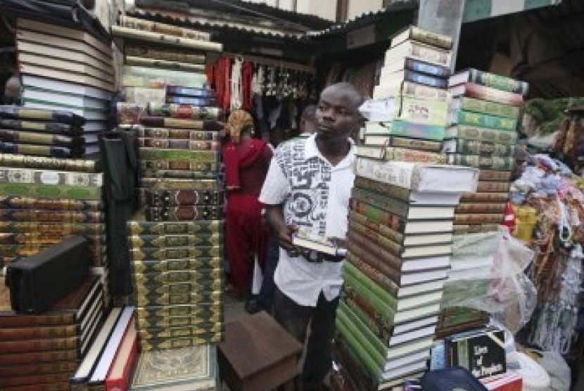 Pedagang biner di nigeria