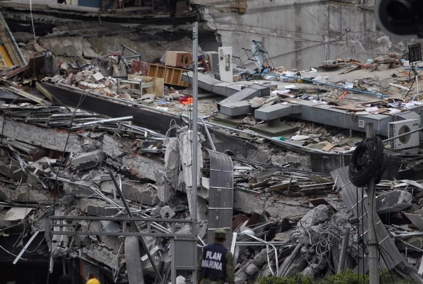 Gempa Meksiko Telan 230 Korban Jiwa