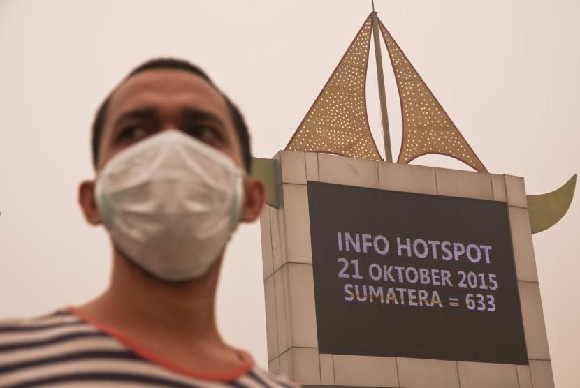 BMKG: 10 Titik Panas Muncul di Aceh