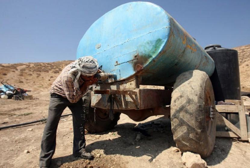Disebut Pangkas Pasokan Air Palestina, Ini Jawaban Israel