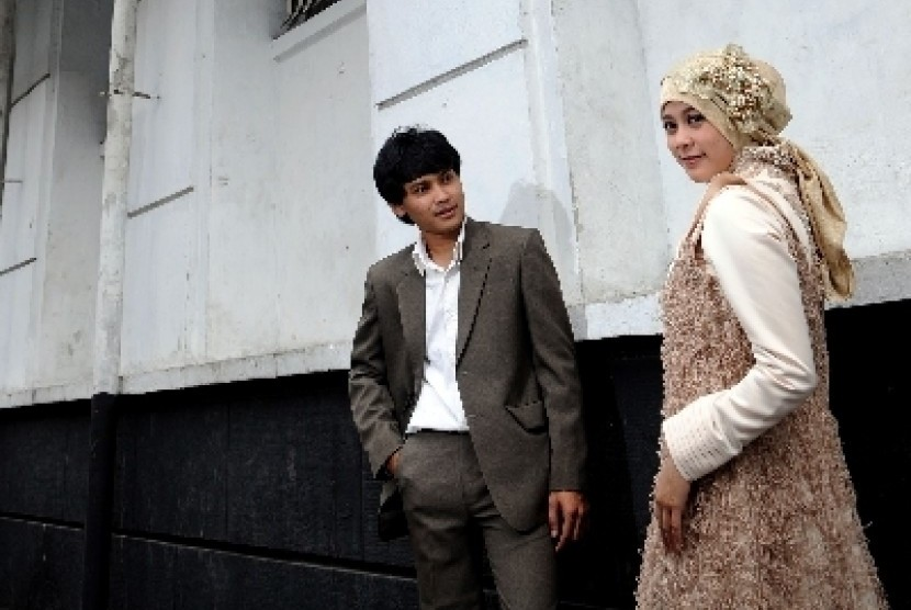 Sepasang suami istri/ilustrasi