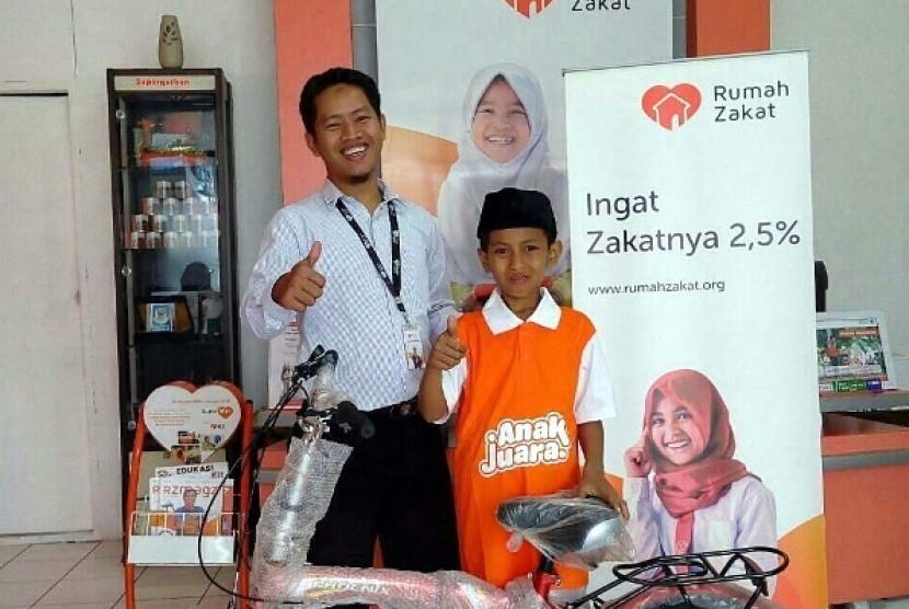 Sepeda Baru untuk Rizal