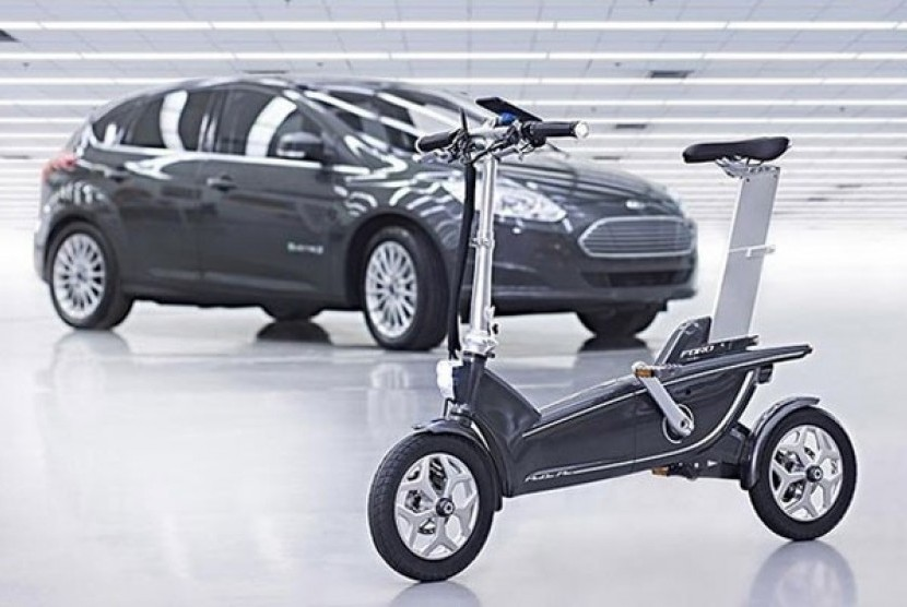 Sepeda listrik Ford.