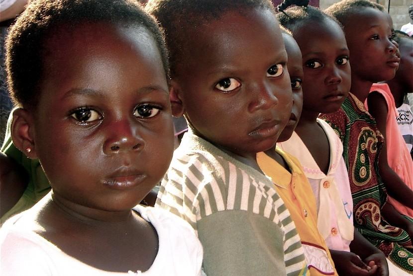 Sepertiga kematian anak di Afrika isebabkan kekurangan gizi.