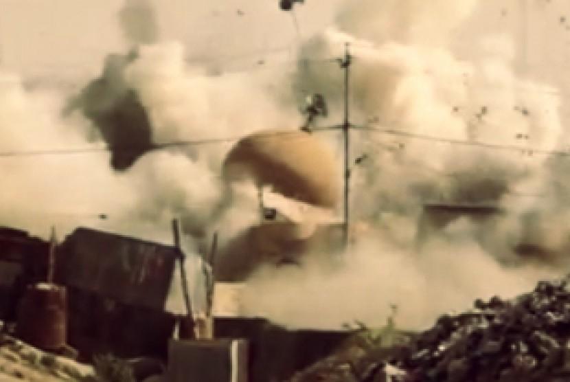 Serangan udara Suriah.