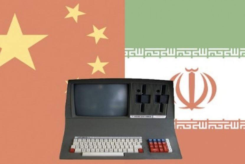 Serangan siber dari Cina dan Iran (Ilustrasi)