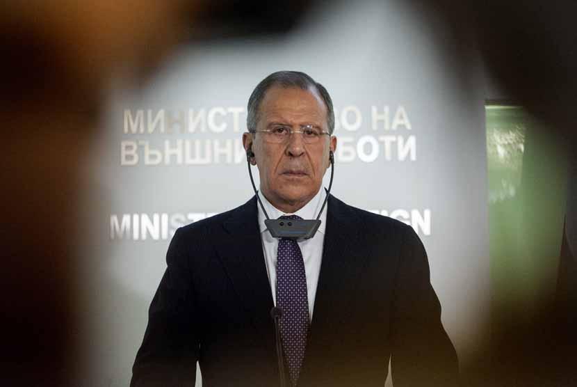 Menlu Rusia Sergey Lavrov.
