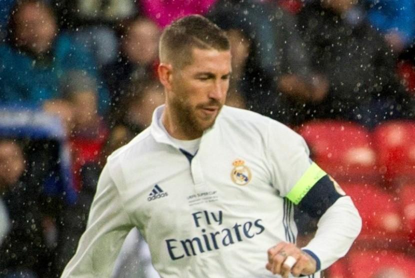 10 Tahun Lalu, Ramos Langsung Bemain Usai Patah Hidung