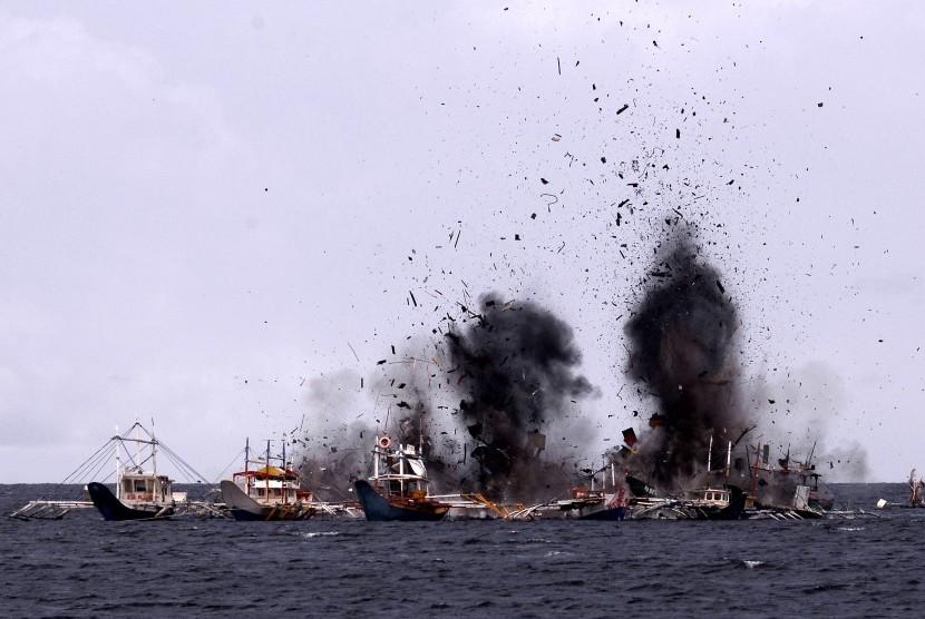 Nelayan Sumut Dukung Susi Tetap Tenggelamkan Kapal Pencuri