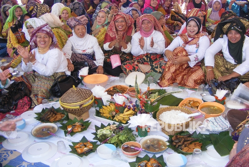 Sajian Makanan Tradisional Bandar Lampung Raih Rekor MURI