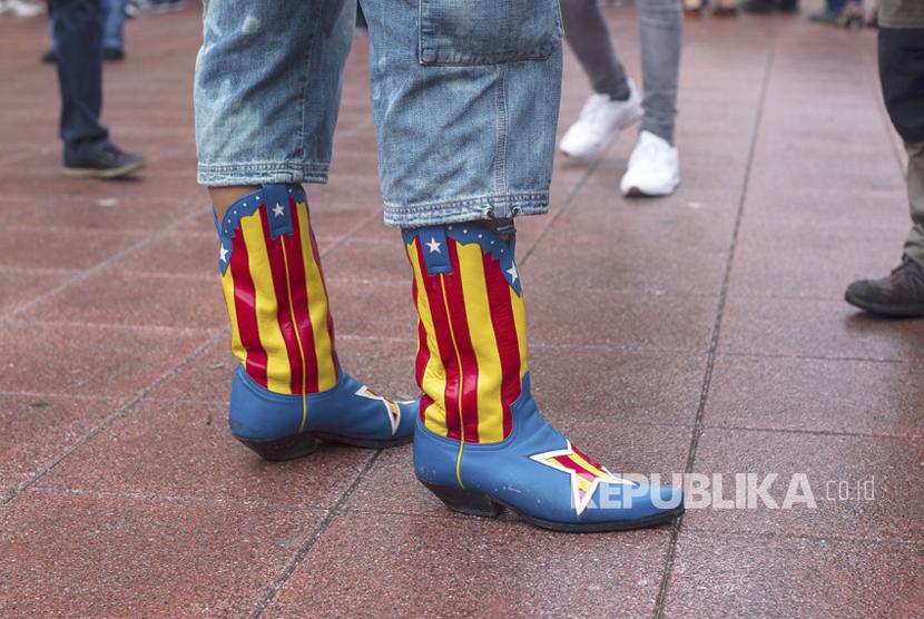 900 Warga Katalan Terluka dalam Referendum Kemerdekaan