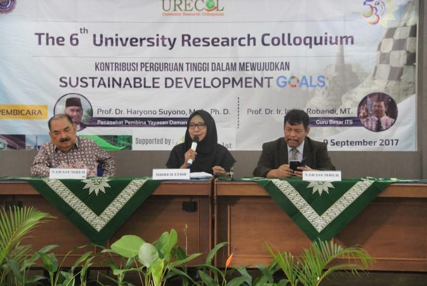 Sesi seminar dalam Urecol ke-6.