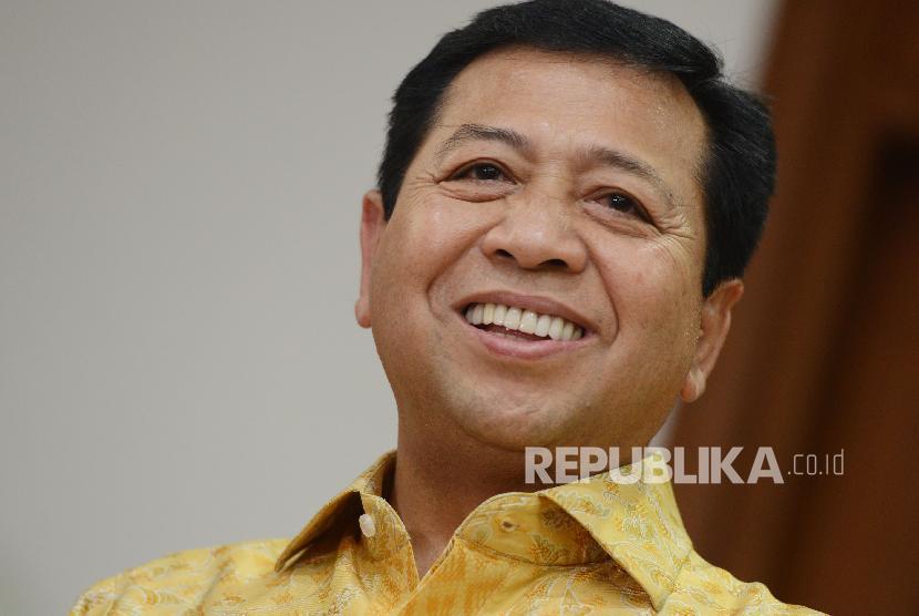 Tak Penuhi Panggilan KPK, Novanto Panen Raya Padi di NTT