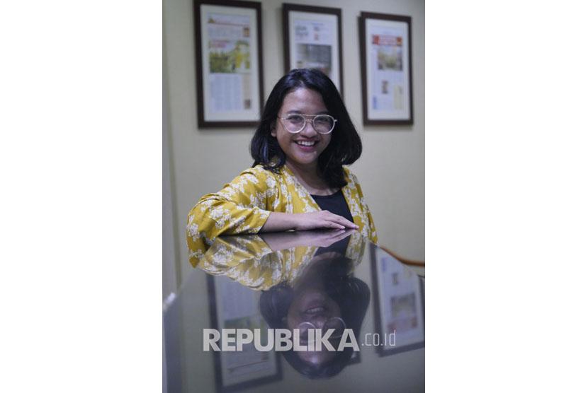 Setyanavidita Livikancasera, wartawan Republika