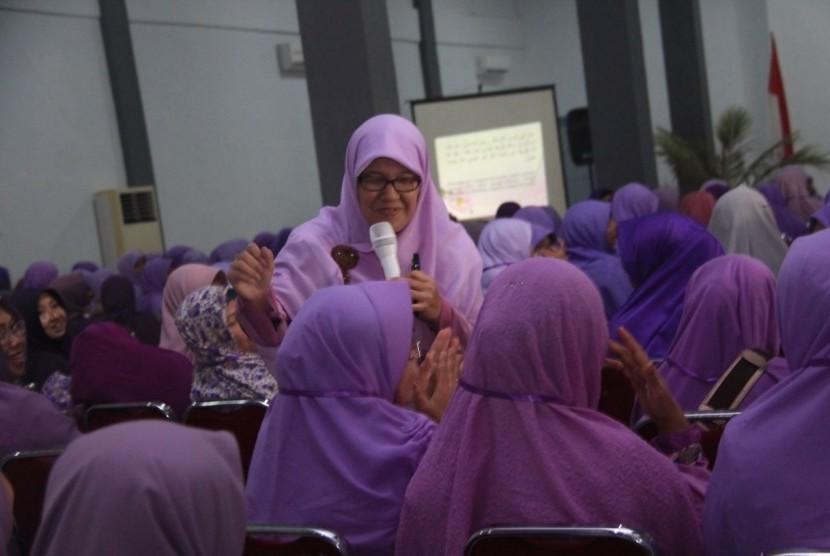 Silaturahmi Nasional (silatnas) Salimah di Medan, Sumatera Utara.