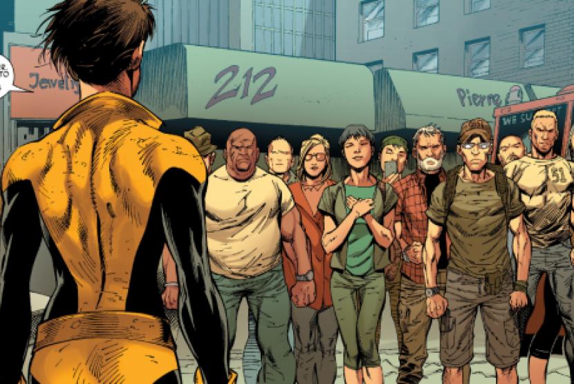 Simbol 212 di Komik X-Men Gold Marvel