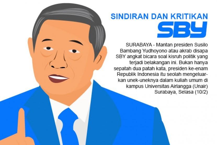 sindiran dan kritikan SBY