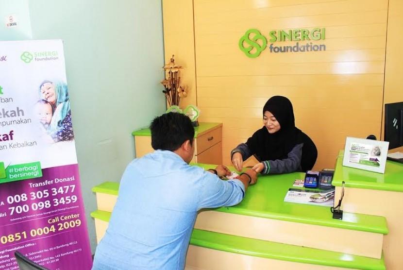 Sinergi Foundation Ajak Masyarakat #BerbagiBersinergi