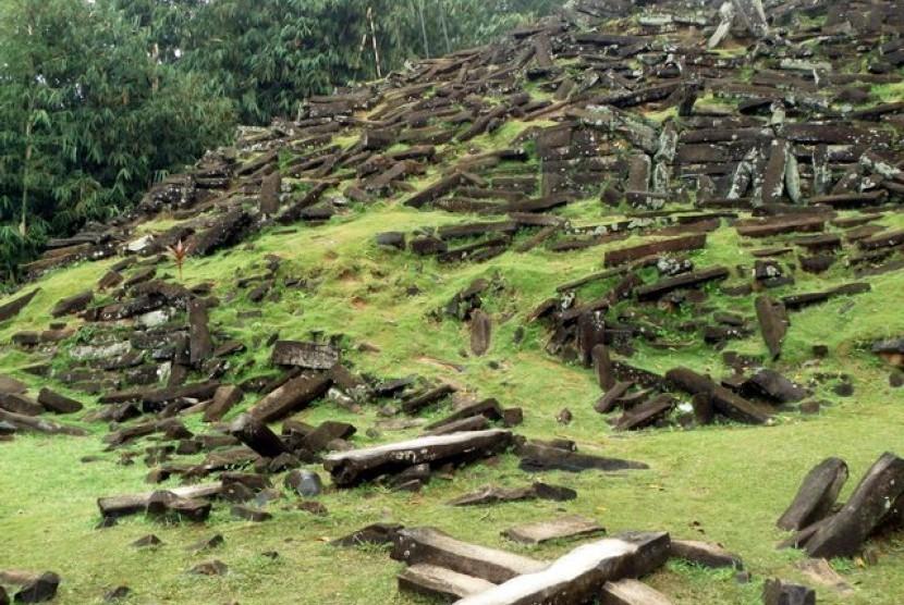Sirus megalitikum di Gunung Padang, Cianjur