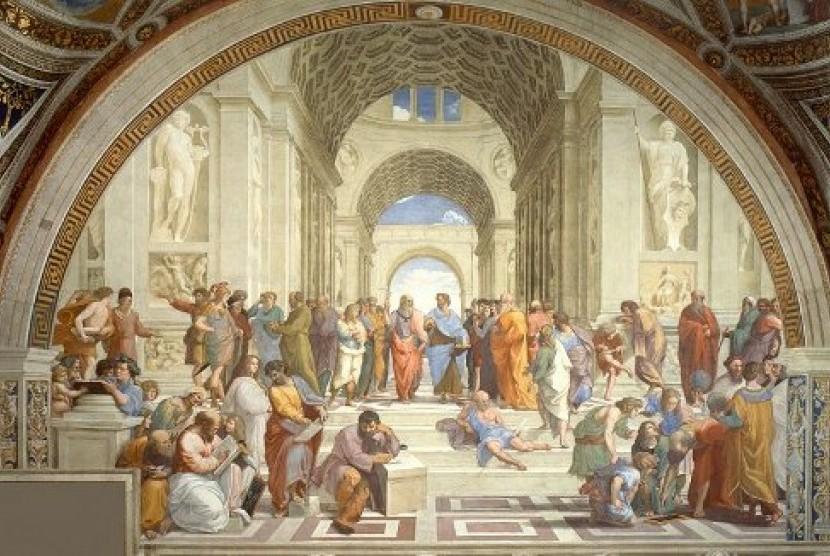 Yunani kuno (ilustrasi).