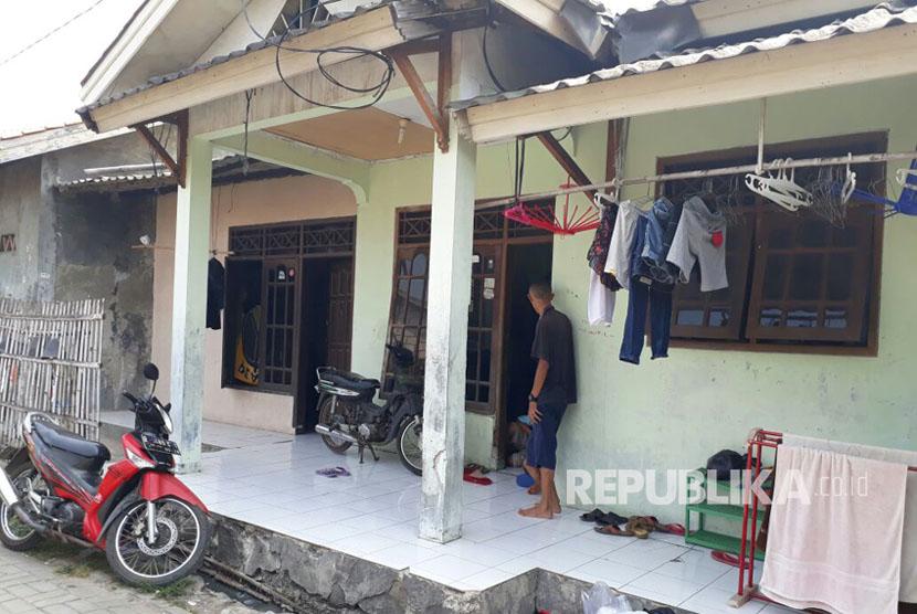 House of Rudiyanto Simanjorang and Henny Silalahi, parents of the late Tiara Debora Simanjorang at Jalan Jaung, Benda, Tangerang City, Sunday (September 10).