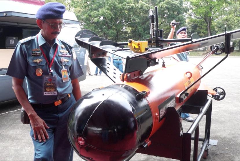 Skipper, drone bawah laut karya Lanbilek Dislitbang TNI.