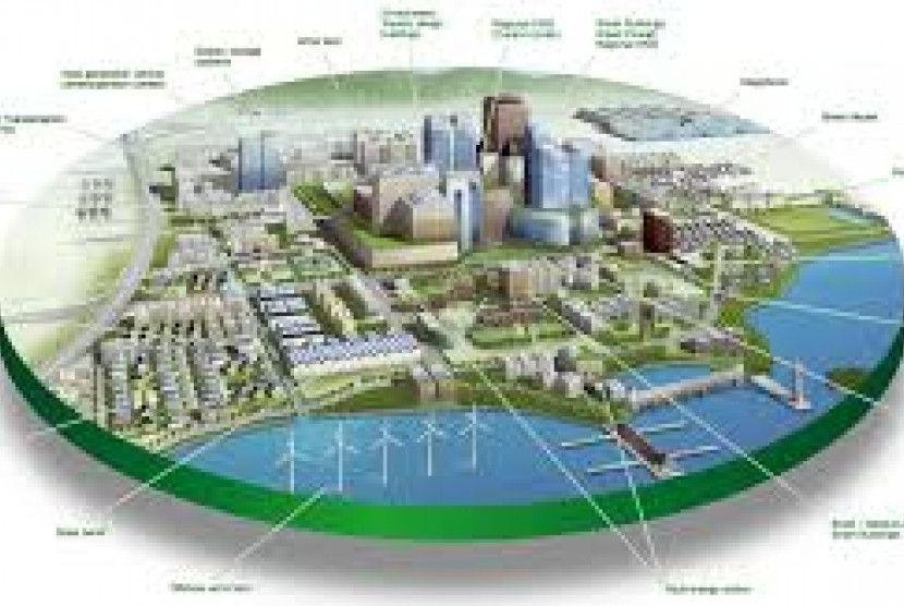 Smart city, ilustrasi
