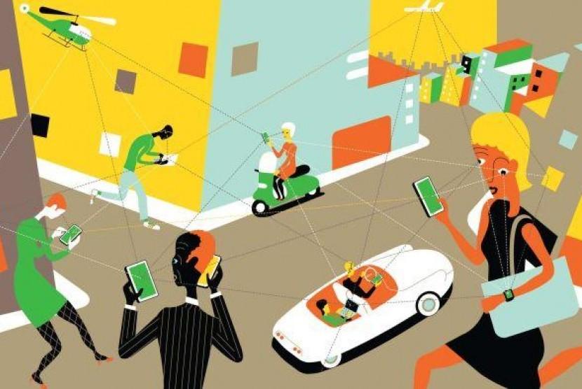 smartphone (ilustrasi)