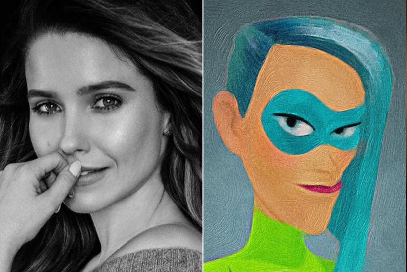 Sophia Bus mengisi suara karakter wanita bertenaga super Voyd
