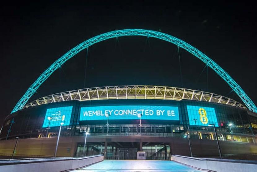 Stadion Wembley dilengkapi dengan jaringan internet super cepat.