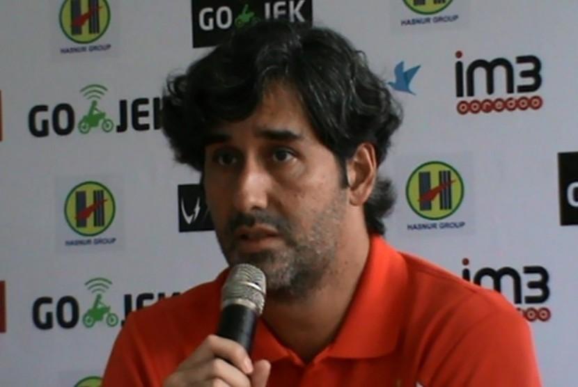 Teco Janji Persija tak Bertahan Total Lawan Bali United