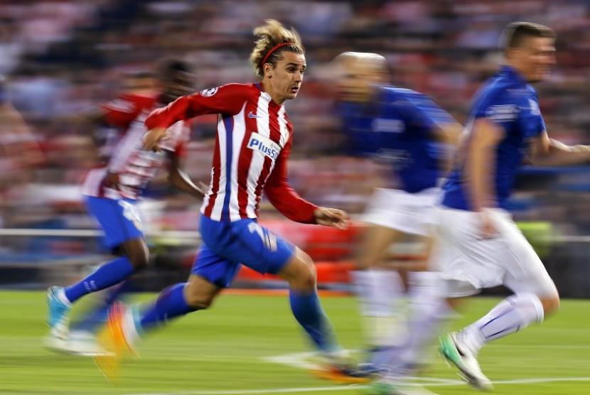 Striker Atletico Madrid, Antoine Griezmann.