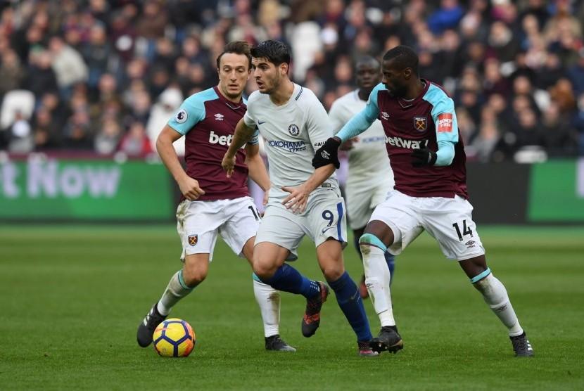 Chelsea Dipaksa Kandas di Kandang West Ham
