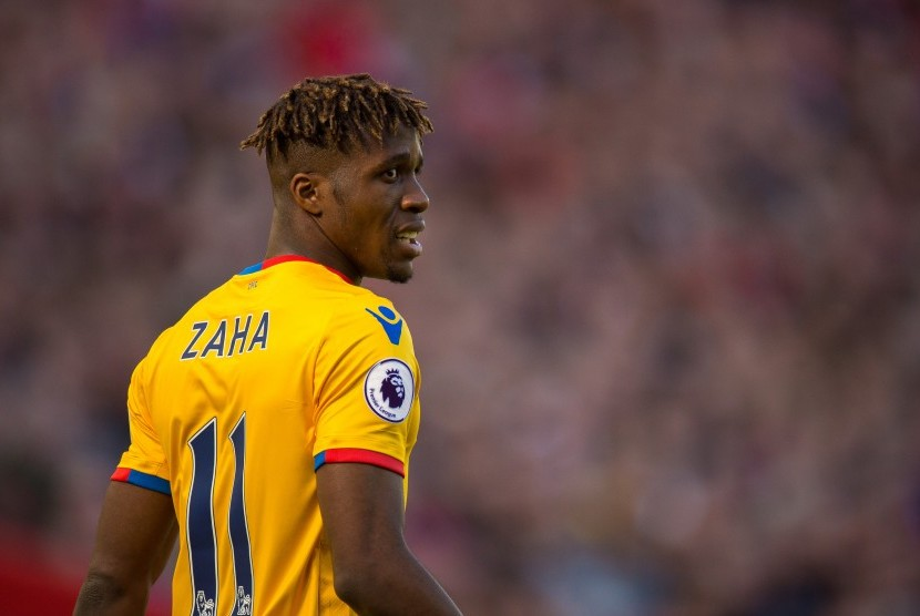 Striker Crystal Palace, Wilfried Zaha.