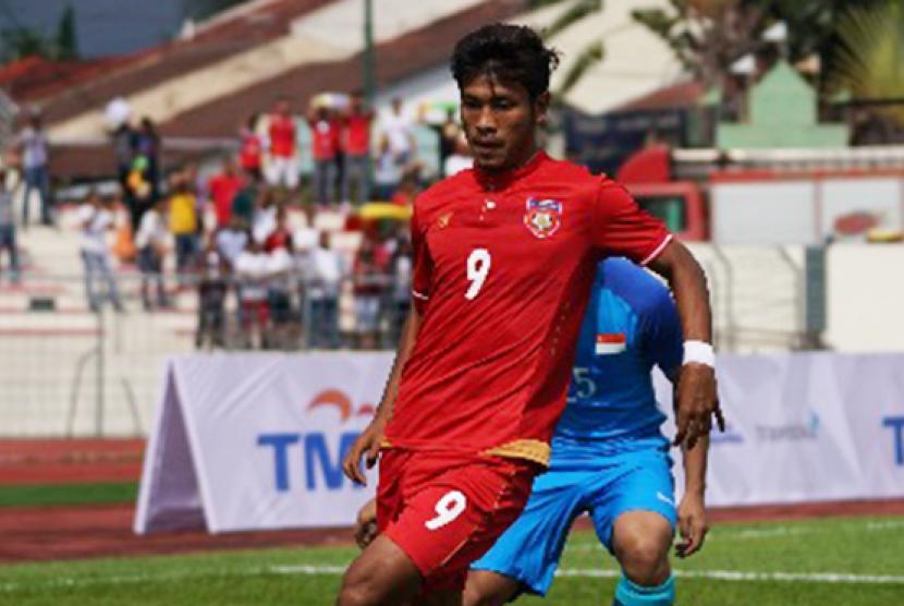 Striker Myanmar Aung Thu.