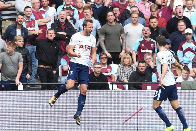 Babak Pertama, Spurs Unggul 2-0 Atas West Ham