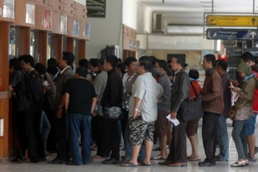 Suasana Bandara Adisucipto Yogyakarta