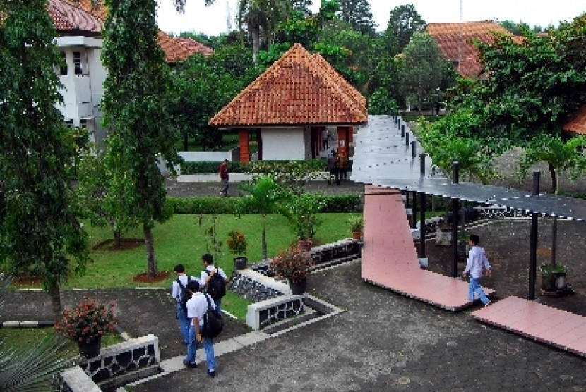 Suasana di MAN Insan Cendekia, Serpong, Tanggerang Selatan, Banten.