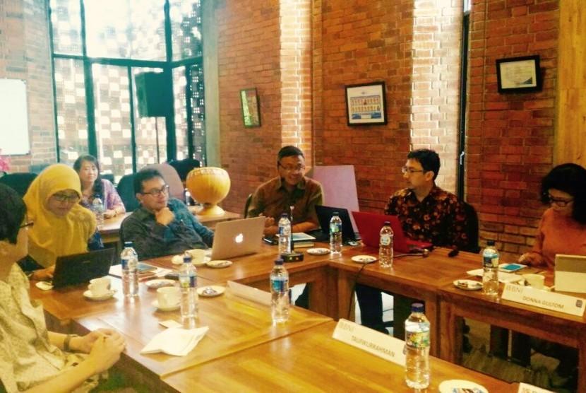 Suasana diskusi Kahigama di Jakarta, pekan lalu.