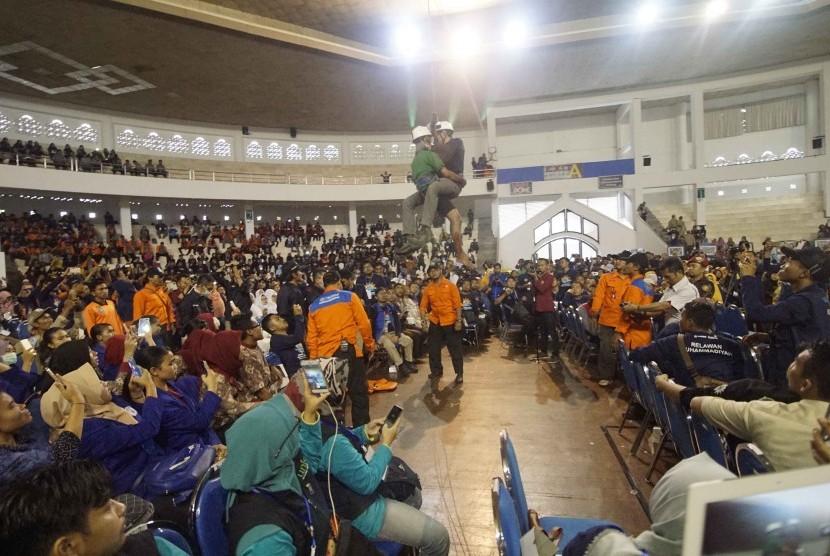 Suasana Jambore Nasional MDMC.