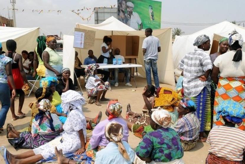 Suasana kehidupan Muslim di Angola.