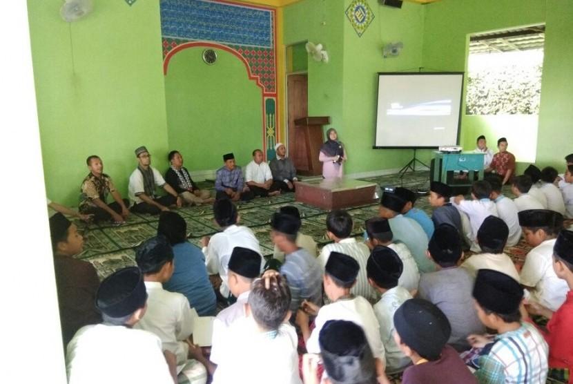 Suasana mabit gabungan yang digelar di Sekolah Dinamika Umat, Kemang, Bogor, 9-10 Februari 2018.