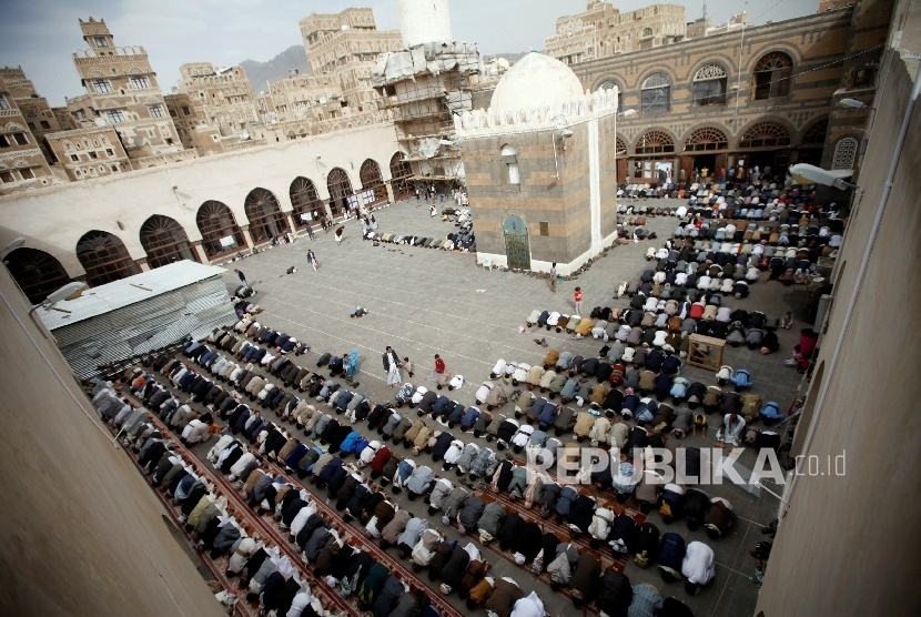 Masjid Saleh Kebanggaan Masyarakat Yaman