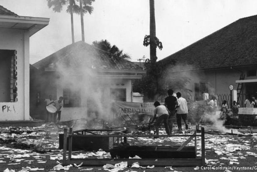 Suasana mencekam usai peristiwa 30 September 1965