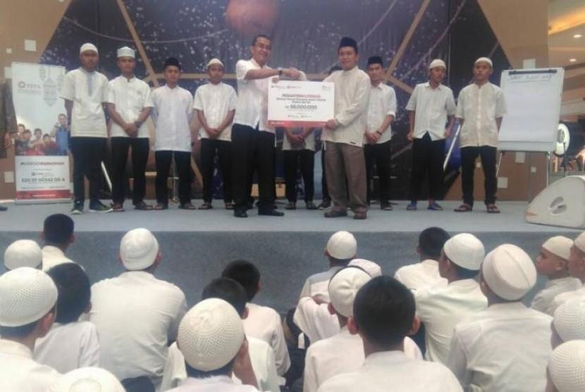 Suasana pesantren literasi yang digelar PPPA Daarul Qur'an.