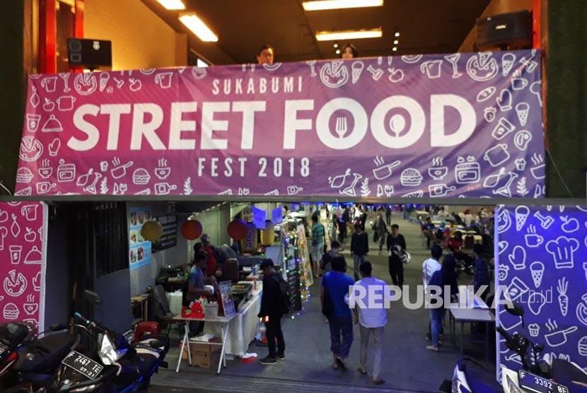 Sukabumi Street Food Fest Tawarkan Menu Berbuka Unik