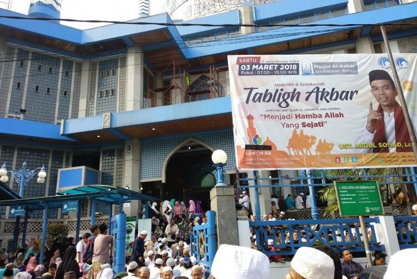 Kedatangan Ustaz Abdul Somad Datangkan Rezeki Bagi Pedagang