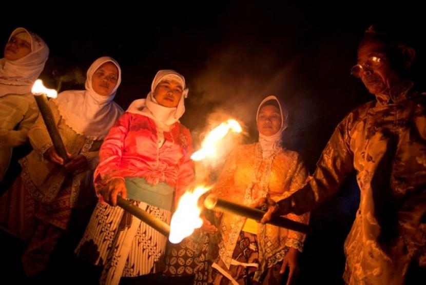 Suasana Takbir Keliling di Yogyakarta