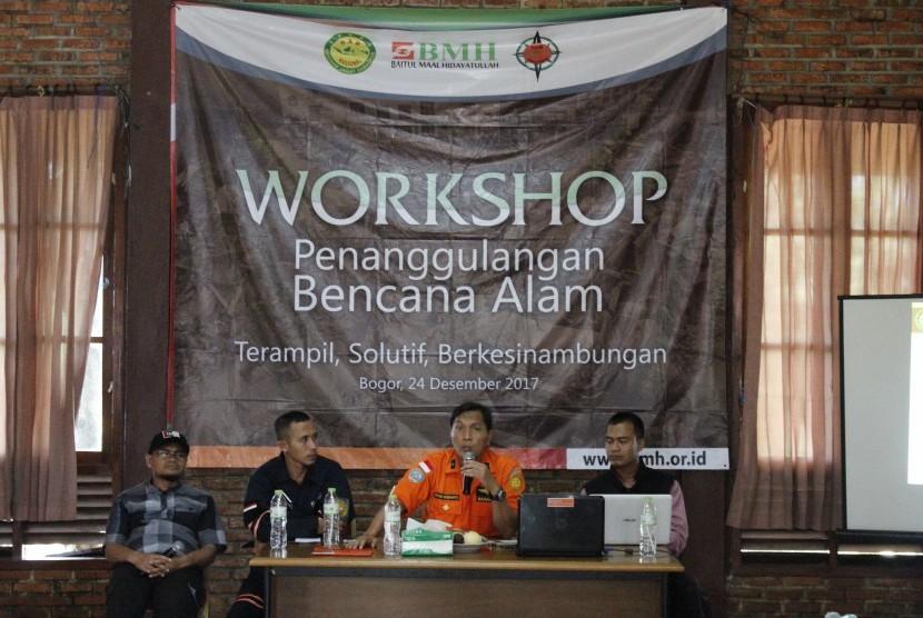BMH-Basarnas Gelar Workshop Penanggulangan Bencana Alam
