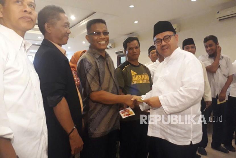Sudirman Said bertemu perwakilan relawan se-Solo Raya.